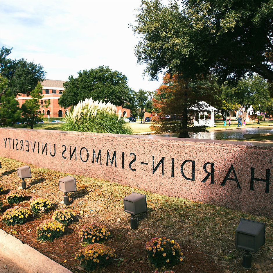 Hardin-Simmons University entrance sign